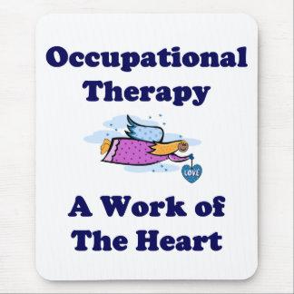 Arbetsterapeutmusen vadderar musmatta