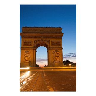 Arc de Triomphe Brevpapper