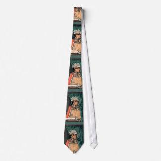 Arcimboldo - bibliotekarien - unikt fantasirikt slips