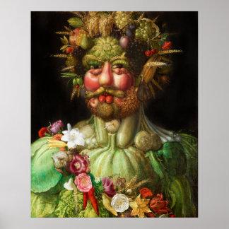 Arcimboldo Rudolf II affisch