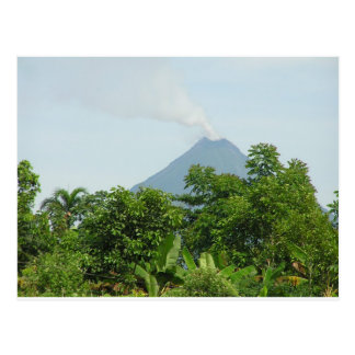 Arenal vulkan, Costa Rica. Vykort