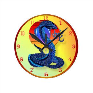 Året av ormen och solen tar tid på rund klocka