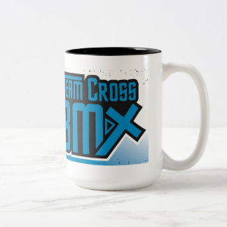Arg BMX kaffekopp för lag