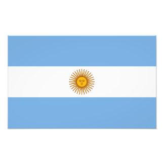 Argentina flagga konstfoto