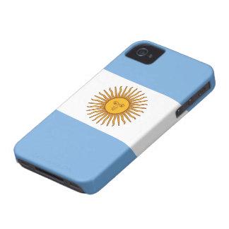 Argentina flagga iPhone 4 Case-Mate case