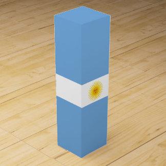 Argentina flagga vinlåda