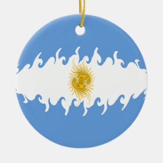 Argentina Gnarly flagga Julgranskula