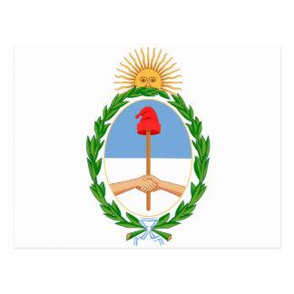 Argentina lag av armen AR Vykort