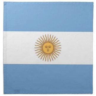 Argentinsk flagga på den MoJo servetten Servett