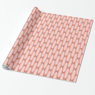 Argyle för rosa kvartar rosa Harlequin Kawaii Presentpapper