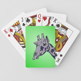 Argyle giraff spelkort