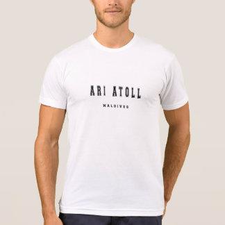 Ari Atoll Maldiverna Tee Shirts