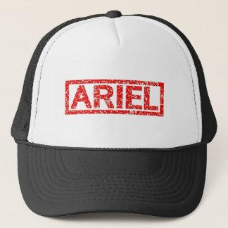 Ariel frimärke truckerkeps