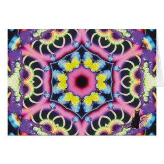 Ariel Kaleidoscope Hälsningskort