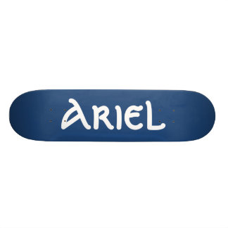 Ariel känd Skateboard