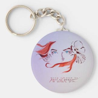 Ariel Rund Nyckelring