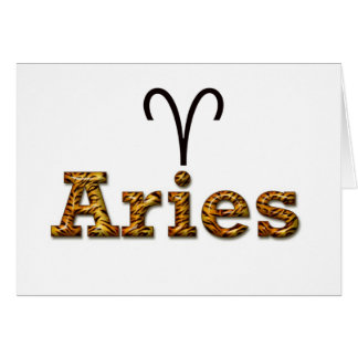 aries, hälsningskort