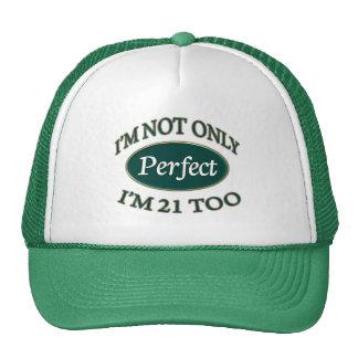 Årig perfekt 21 keps