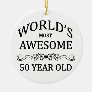 Åriga världs mest fantastisk 50 julgransprydnad keramik
