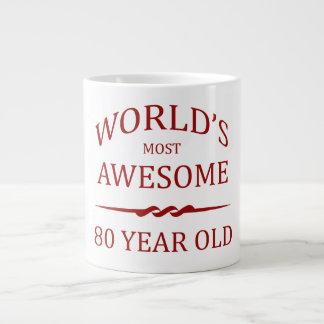 Åriga världs mest fantastisk 80 jumbo mugg