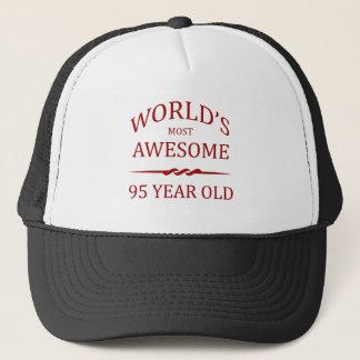 Åriga världs mest fantastisk 95. truckerkeps