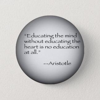 Aristotle citationstecken standard knapp rund 5.7 cm