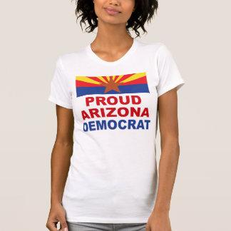 Arizona frisinnad demokratutslagsplats tee shirts