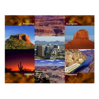 Arizona ökenCollage Vykort