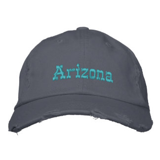 Arizona turkoshatt broderad keps