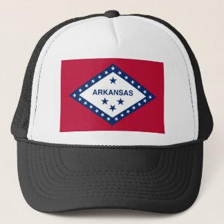 Arkansas statlig flagga truckerkeps
