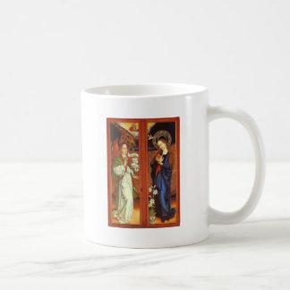 Ärkeängel Gabriel - Annunciation - Schongauer Kaffemugg