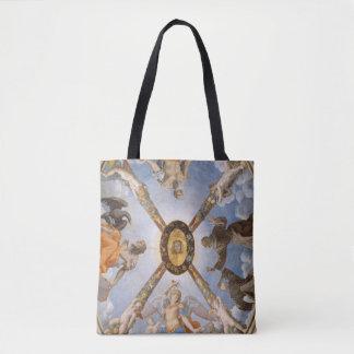 Ärkeänglar och Saints för Bronzino kapellFresco Tygkasse