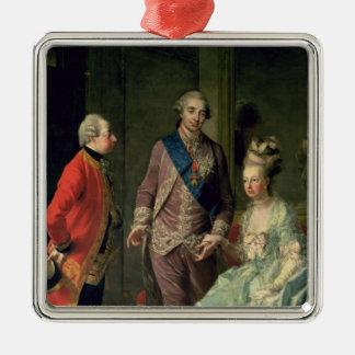 Ärkehertig Maximilian Franz som besöker Marie Julgransprydnad Metall