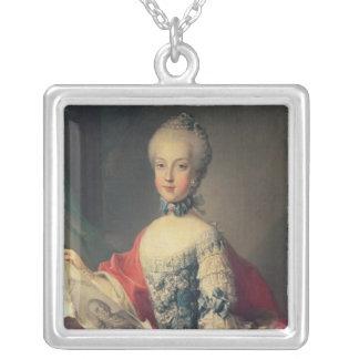 Ärkehertiginna Maria Carolina Silverpläterat Halsband