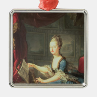 Ärkehertiginna Marie Antoinette Julgransprydnad Metall