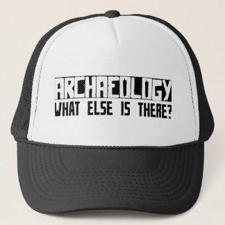 Arkeologi vad annat är där? truckerkeps
