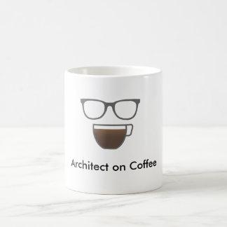 Arkitekt på kaffelogotypmuggen kaffemugg