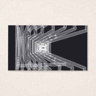 Arkitektonisk stilvisitkort visitkort