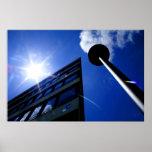 Arkitektoniska tryck för solbyggnadlampa på Sale Affisch