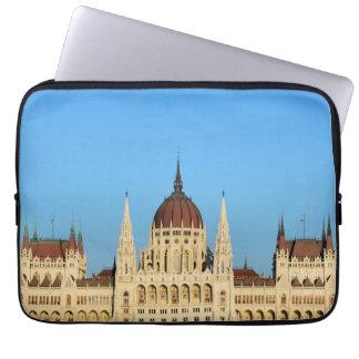 arkitektur för budapest hungary parlamentslott laptop fodral