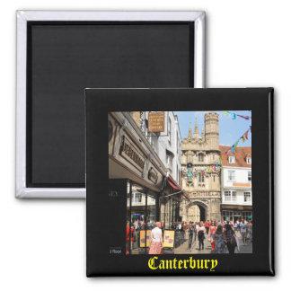 Arkitektur i Canterbury, Kent, England Magnet