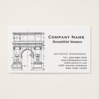 Arkitektur och construcction visitkort