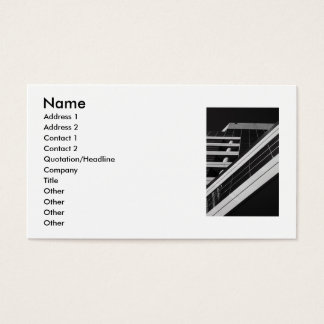 Arkitektur specificerar visitkorten visitkort
