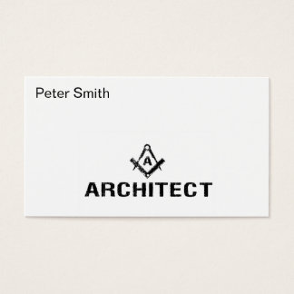 Arkitektvisitkort Visitkort