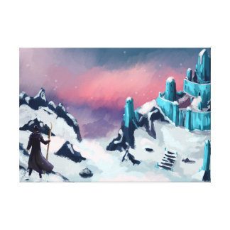 Arktisk fästning canvastryck