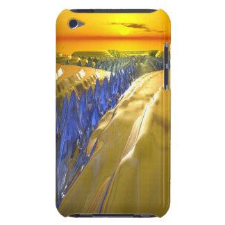 Arktisk Fractalglaciär iPod Touch Case-Mate Case