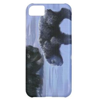 Arktisk konst för djurliv för för Muskoxemor & iPhone 5C Fodral