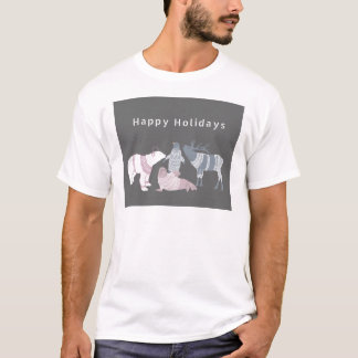 Arktisk vänhelgdagar t shirt