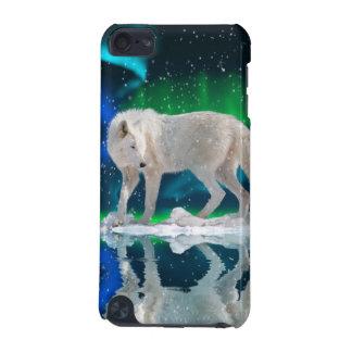 Arktisk varg- & auroradjurlivipod touch case iPod touch 5G fodral