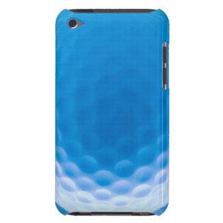 Arktiska blått för golfbollstrukturskrattgropar barely there iPod skal